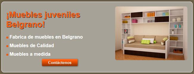 muebles juveniles en belgrano