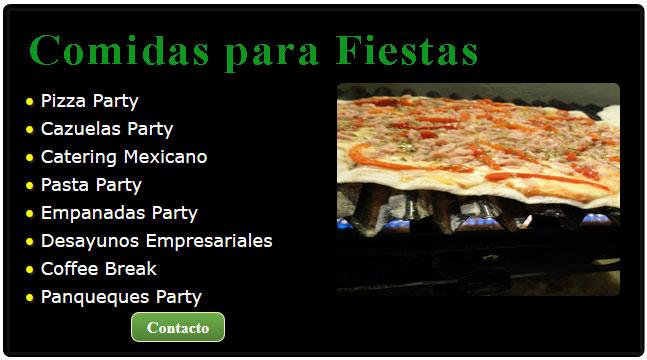 Ideas en comida para fiestas pizza - Comidas para cumpleanos en casa ...