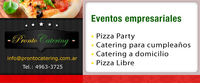 menús para eventos empresariales, comidas para eventos empresariales, tacos para eventos, servicios para eventos, oeste eventos, pastas para eventos, servicios de eventos, eventos en capital federal,
