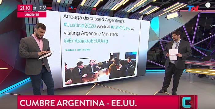 Dialogo de Direccion nacional de inteligencia criminal autoridades con Latin American Program. Cumbre en EE UU